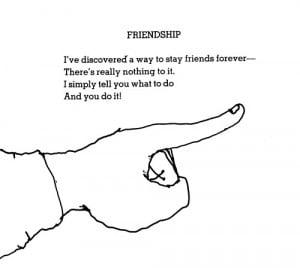 shel silverstein friendship poems