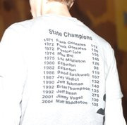 ... Springs wrestling state champions, including two-time champ Ed Seaton