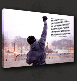 ROCKY-QUOTE-BOXING-MOVIE-CANVAS-PRINT-POP-ART-MODERN-DESIGN-MANY-SIZES ...