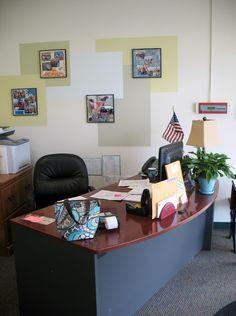 The reNOUNed Nest: Ten Fun School Office Decorating Ideas More