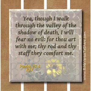 ... comfort me psalm 23 4 kjv bible verses to share # bible # verses
