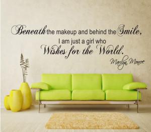 ... WALL ART QUOTE STICKER - BEDROOM LOUNGE LOVE DECALPvc wall sticker