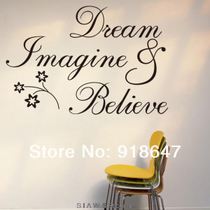 SIA Wholesale New High Quality English Quotes Wall Stickers