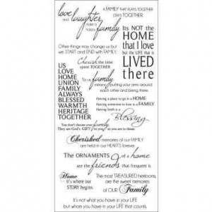 Family Quotes - scrapbooking