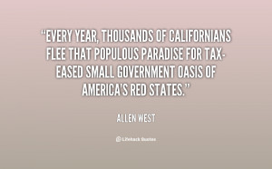 Every year, thousands of Californians flee that populous paradise for ...