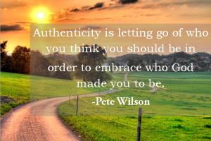 Monday Moments-Authenticity