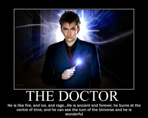 Doctor Who Motivational Posters