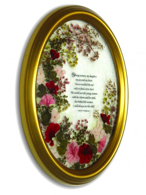 ... flowers frame inspirational quotes for that special daughter Pictures