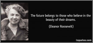 Eleanor Roosevelt: Conquer Your Fear By Doing What's Frightening ...