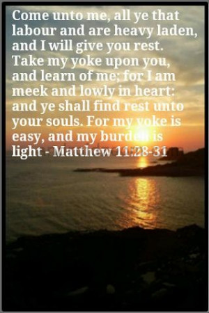 BIBLE VERSE OF THE DAY >>>>>15-07-2012
