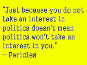 Pericles quote