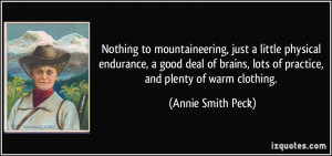 More Annie Smith Peck Quotes