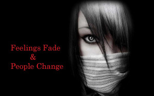 Emo Quotes HD Wallpaper with Girl