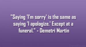 Delightful Demetri Martin Quotes