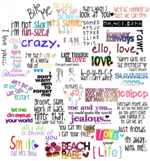 cute quotes and sayings about