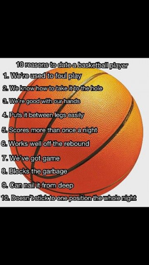 Dating A Basketball Player Quotes Tumblr ~ Quotes on Pinterest | 71 ...