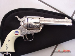 General Patton Commemorative-Sterling plated,fully engraved,rare- Guns ...