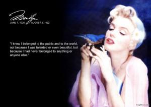 marilyn monroe quote1