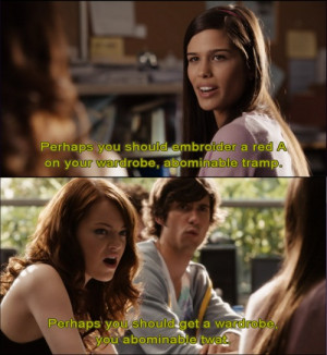 best 10 Easy a quotes and film scenes