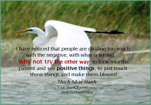 Overcoming negative thoughts quotes, positive thoughts quotes, Thich ...