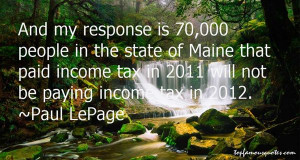 Paul LePage Quotes Pictures