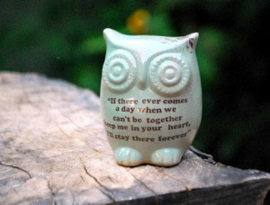 sweet little owl winnie the pooh quote on mint friendship by ...