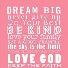 ... big words of wisdom inspiration dreams big quotes kids room big girls