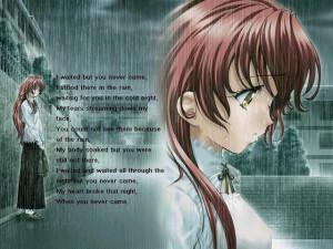 Verwandte Suchanfragen zu deep sad anime quotes
