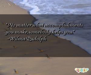 Accomplishments Quotes