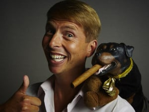 Triumph the Insult Comic Dog and Jack McBrayer new Adult Swim Series