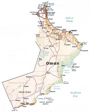 map of oman phonebook of oman c m
