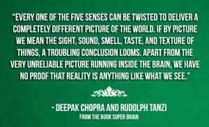 Deepak Chopra - Perception of Reality: Thoughts Collider, It, Maps ...