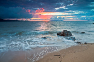 Beautiful Sunrise: Pallarenda Beach, Townsville, Australia