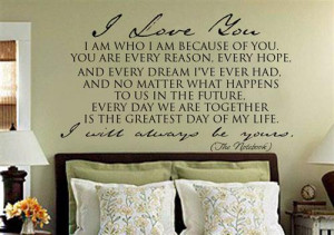 Nicholas Sparks The Notebook Quotes Wallpapers picture
