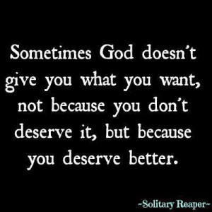 Motivational Wallpaper Quote by Solitary Reaper on Deserve: Sometimes ...
