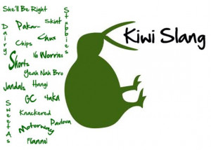 Kiwi Slang / New Zealand Slang