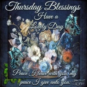 Thursday Blessing