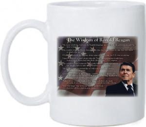 Ronald Reagan Wisdom T-Shirt