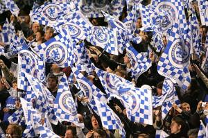 """... keep the blue flag flying high!"""" popularne wśród kibiców Chelsea"""