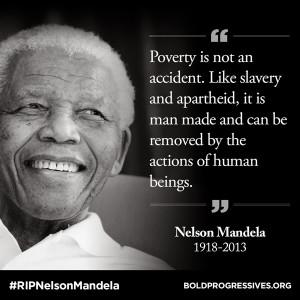 Nelson Mandela Quotes On Poverty Nelson mandela quotes on