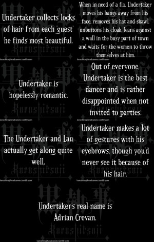 About the Undertaker (Black Butler) by grell2lover13