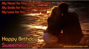 Birthday Quotes For Him Romantic ~ Romantic Happy Birthday Quotes ...