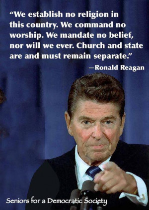 Agreeing with Ronald Reagan – hey, it happens