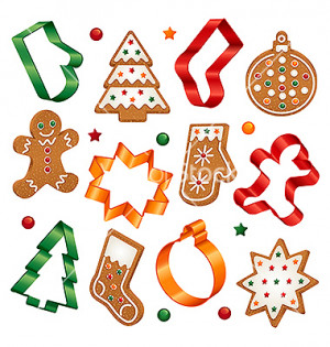 Christmas Cookies And cookie
