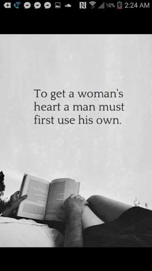 Woman's, heart, man