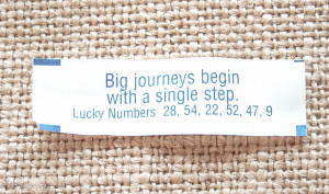 single step. Best Inspirational Chinese Japanese Fortune Cookie Quotes ...
