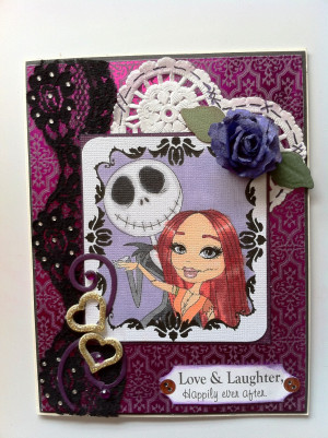 Jack And Sally Love Quotes Jack and sally wedding card