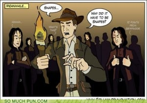 Indiana Jones and the Deathly Hallows'