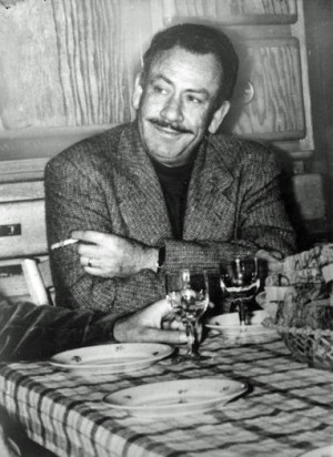 John Steinbeck in 1938, when he was at work on