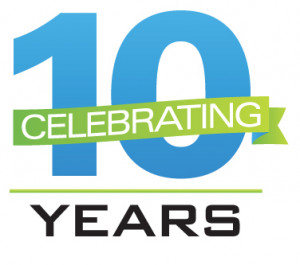 Celebrating 10 years of service to the community